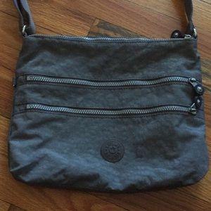 Kipling Alvar Crossbody Bag in Dark Gray